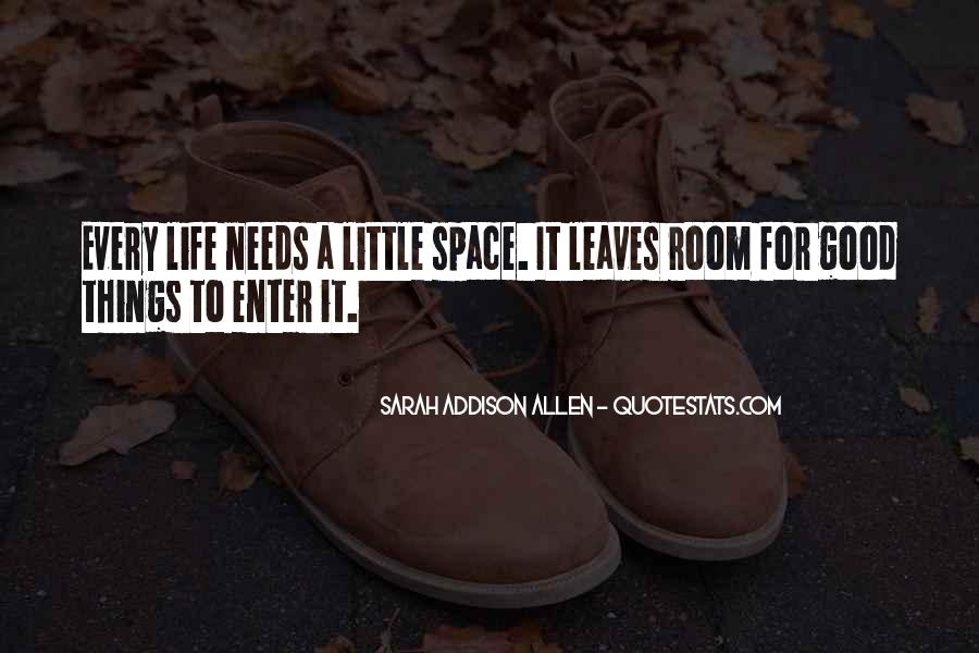 Quotes About Space And Friendship #1087759