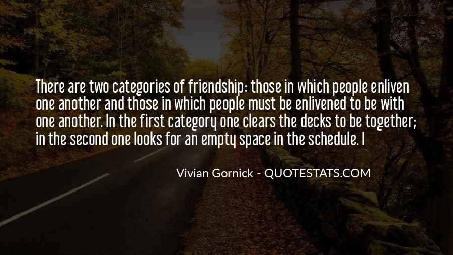 Quotes About Space And Friendship #1139207
