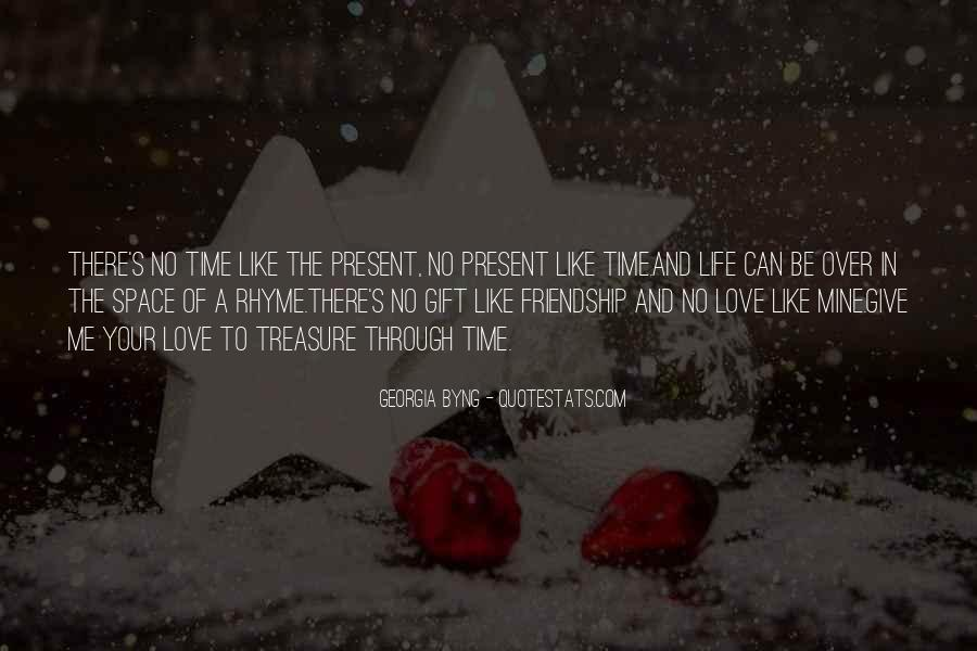 Quotes About Space And Friendship #1189227