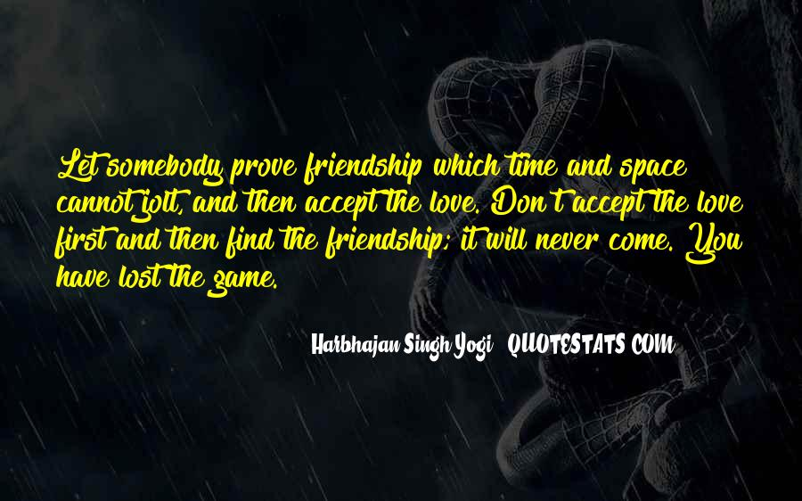 Quotes About Space And Friendship #529112
