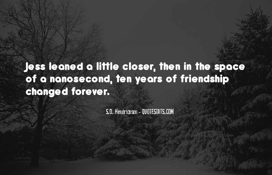 Quotes About Space And Friendship #567151