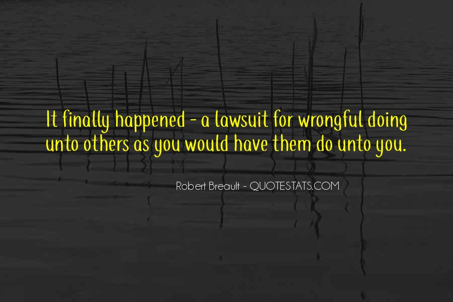 Wrongful Quotes #274043