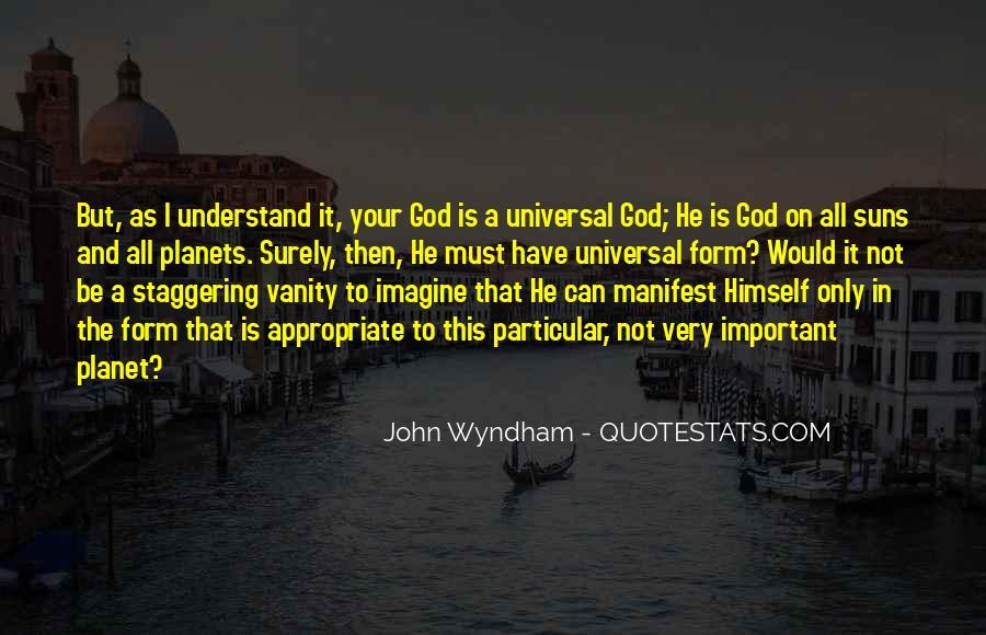 Wyndham's Quotes #1046257