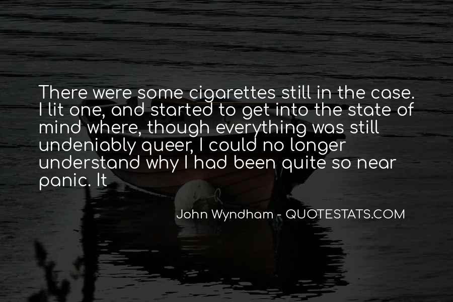 Wyndham's Quotes #1106630