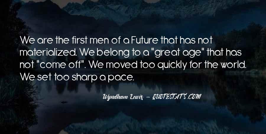 Wyndham's Quotes #1110844