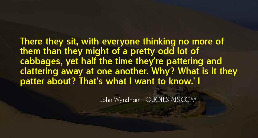 Wyndham's Quotes #115295