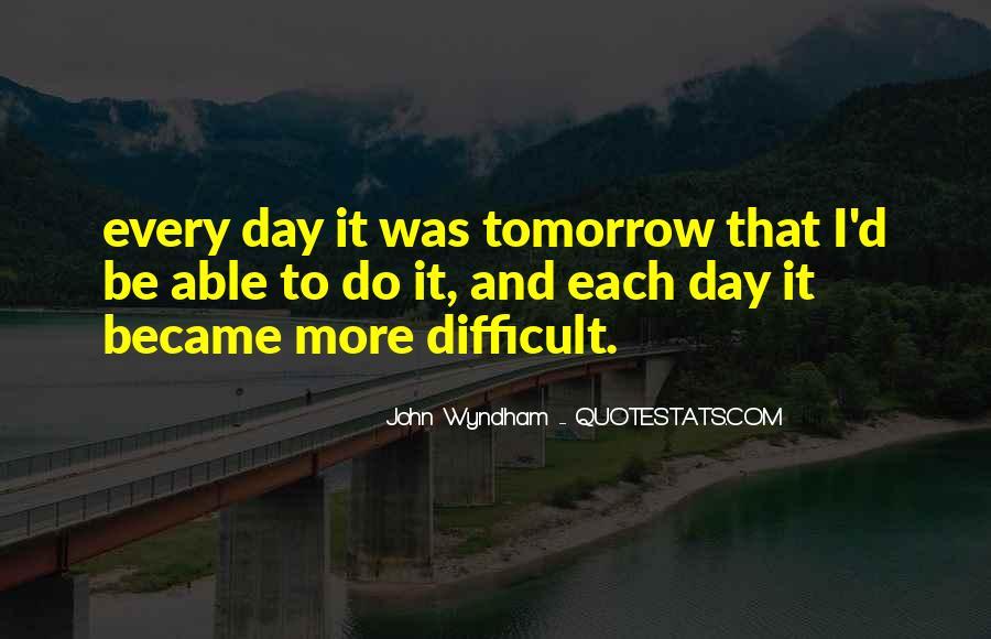 Wyndham's Quotes #1161955