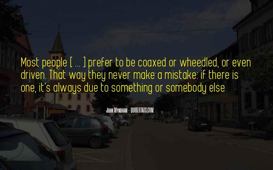 Wyndham's Quotes #1178565