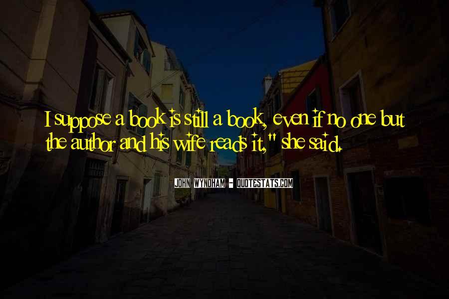 Wyndham's Quotes #120341