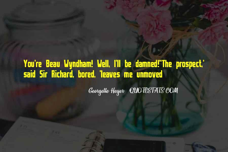 Wyndham's Quotes #157159