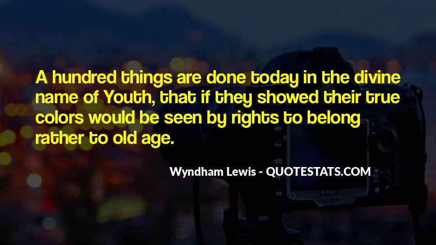 Wyndham's Quotes #161239