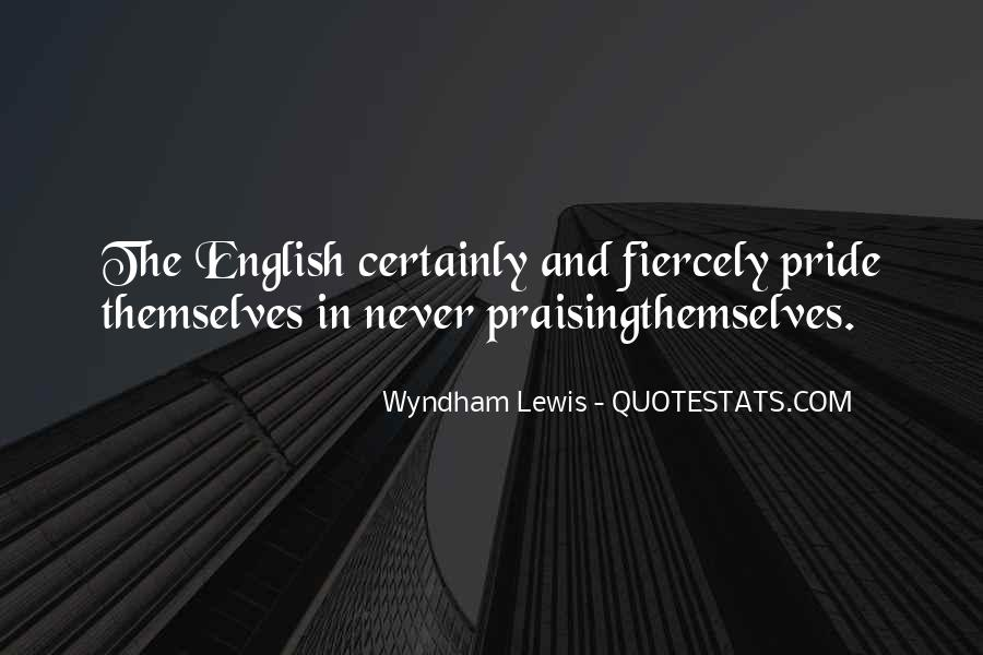 Wyndham's Quotes #311630