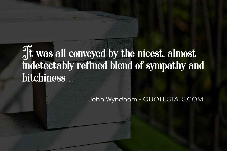 Wyndham's Quotes #444858