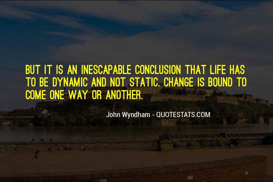 Wyndham's Quotes #470659
