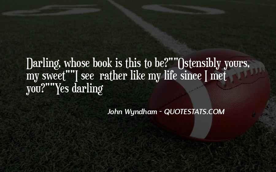 Wyndham's Quotes #500228