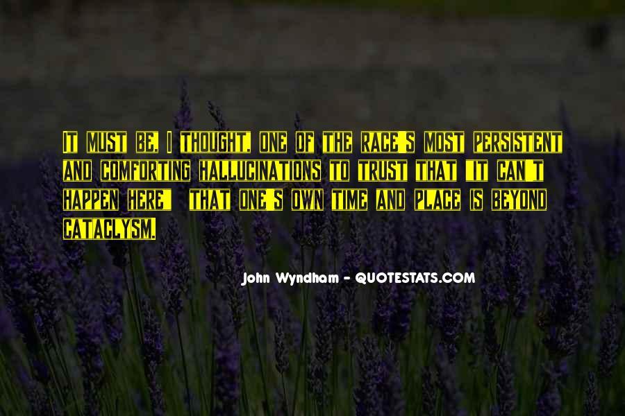 Wyndham's Quotes #7037