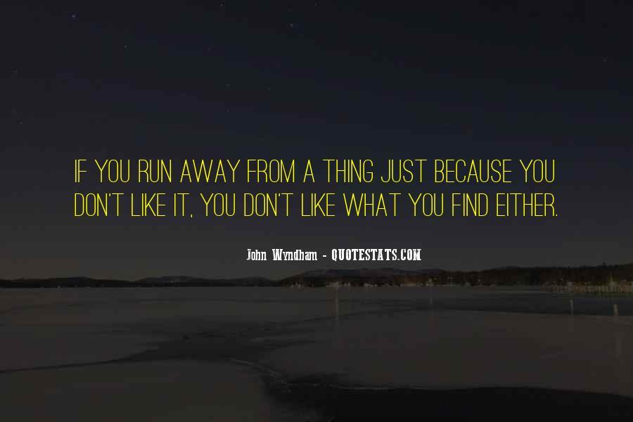Wyndham's Quotes #703985
