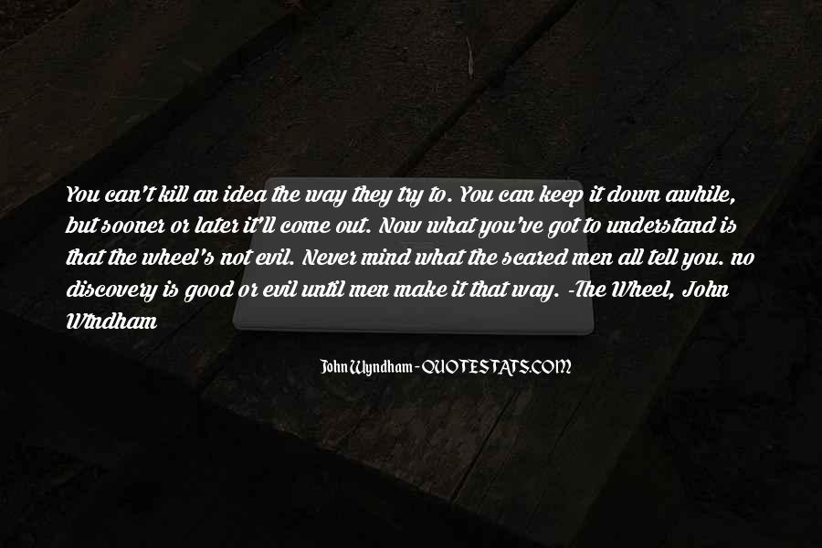 Wyndham's Quotes #711020