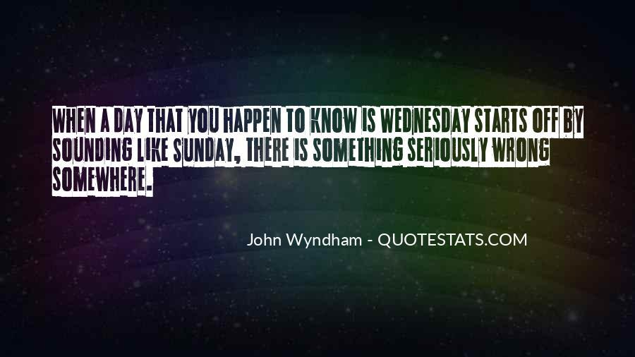 Wyndham's Quotes #719340
