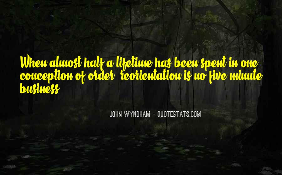 Wyndham's Quotes #794347