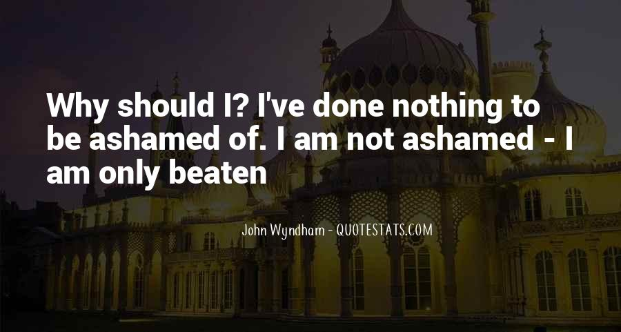 Wyndham's Quotes #867950