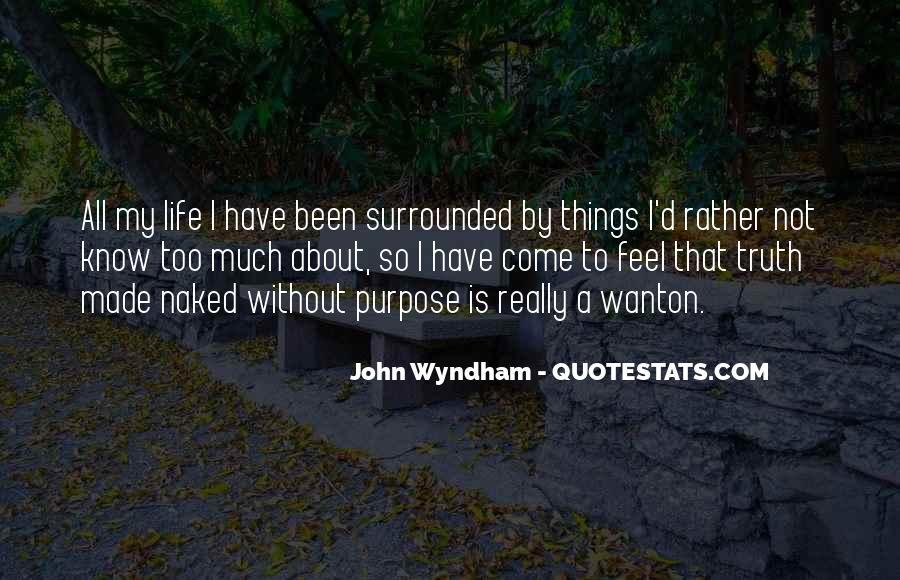 Wyndham's Quotes #914692