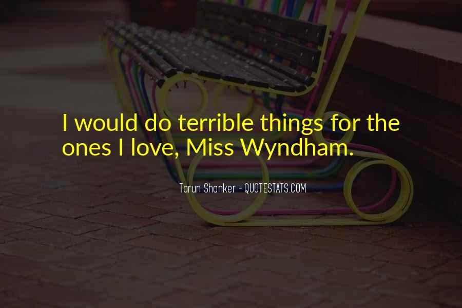 Wyndham's Quotes #984957