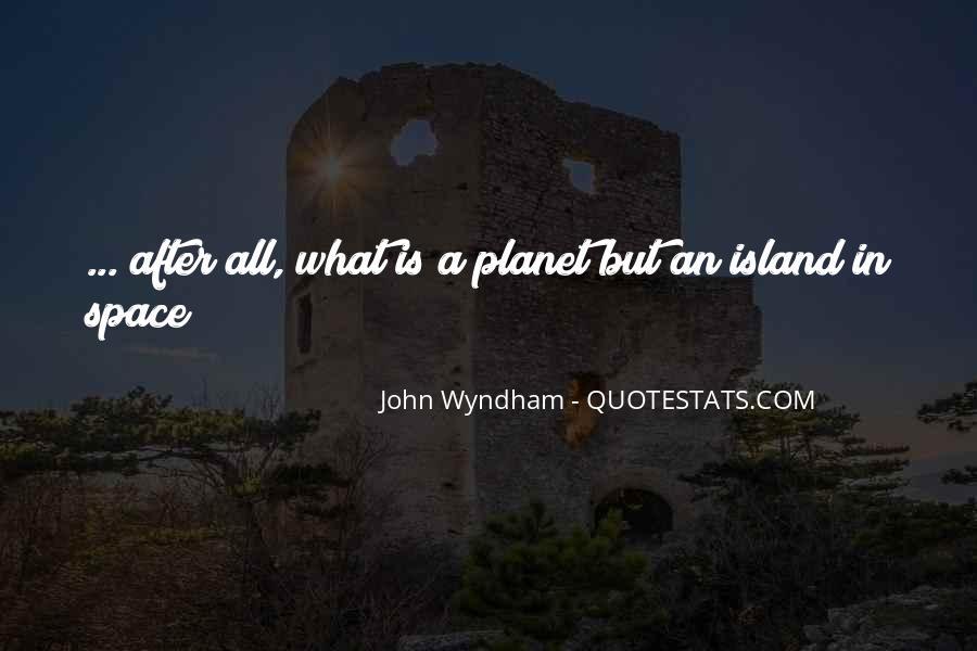 Wyndham's Quotes #986988