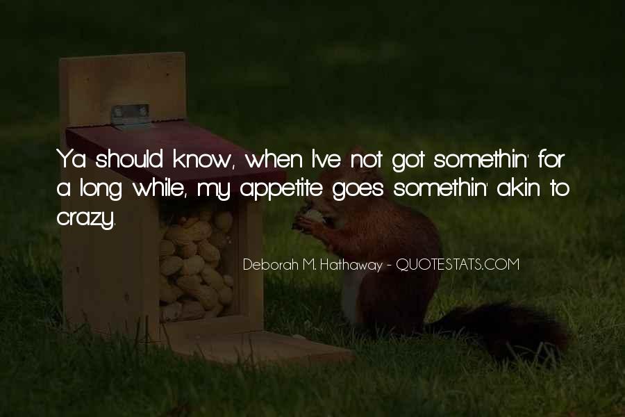Ya've Quotes #1712057
