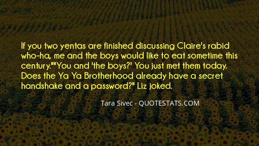Yentas Quotes #1103068