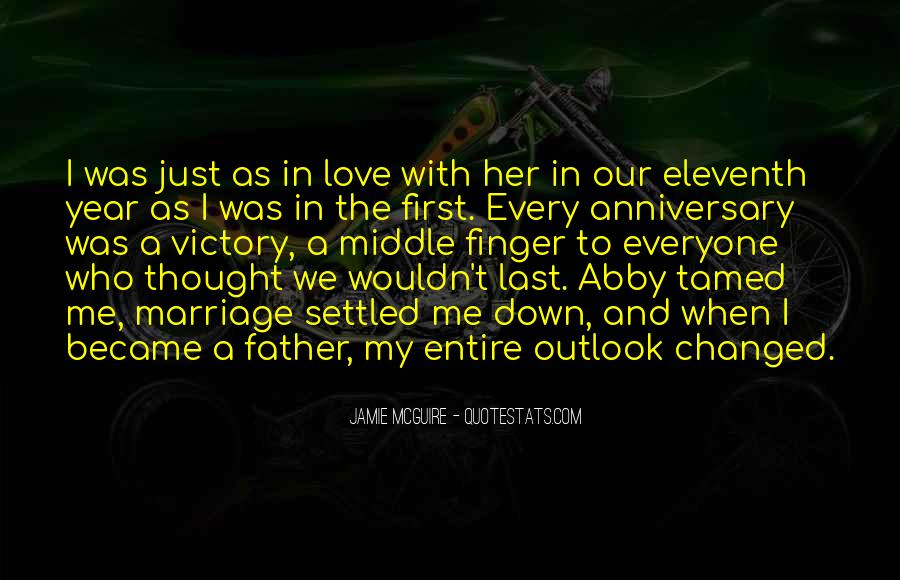Quotes About First Anniversary Of Marriage #1442072