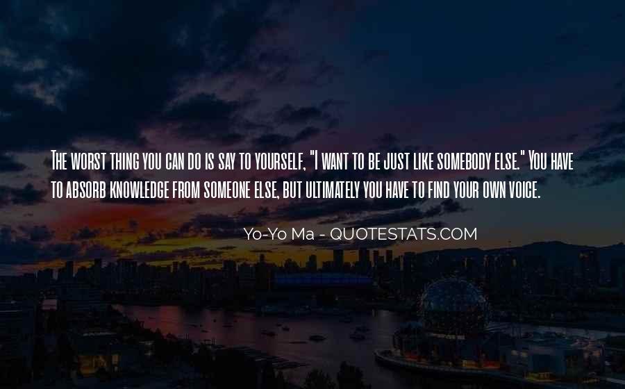 Yo've Quotes #125227
