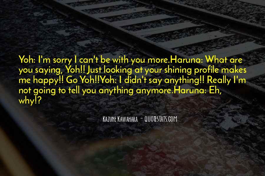 Yoh's Quotes #1312406
