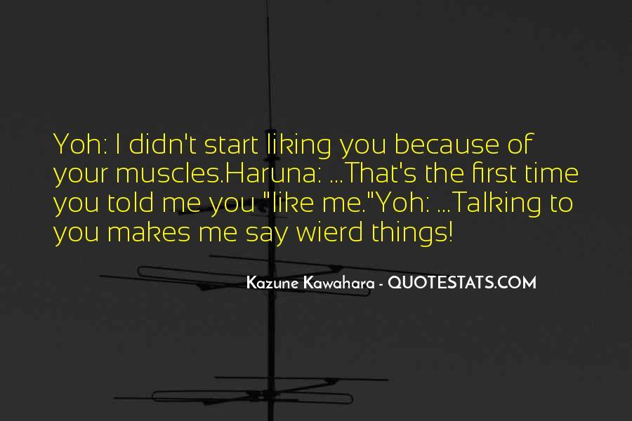 Yoh's Quotes #1500220