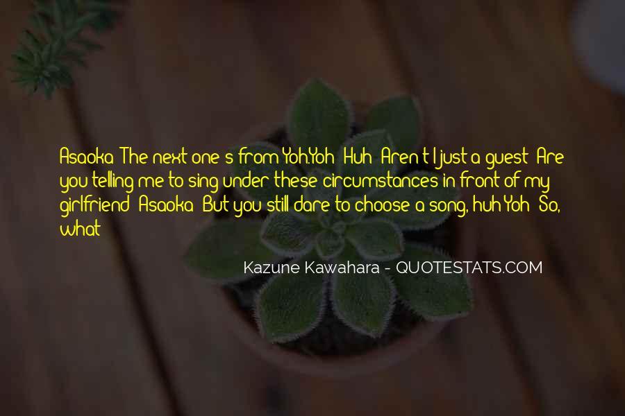 Yoh's Quotes #1808632