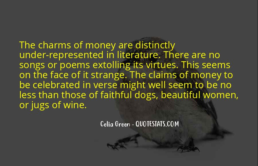 Quotes About Green Money #1072670