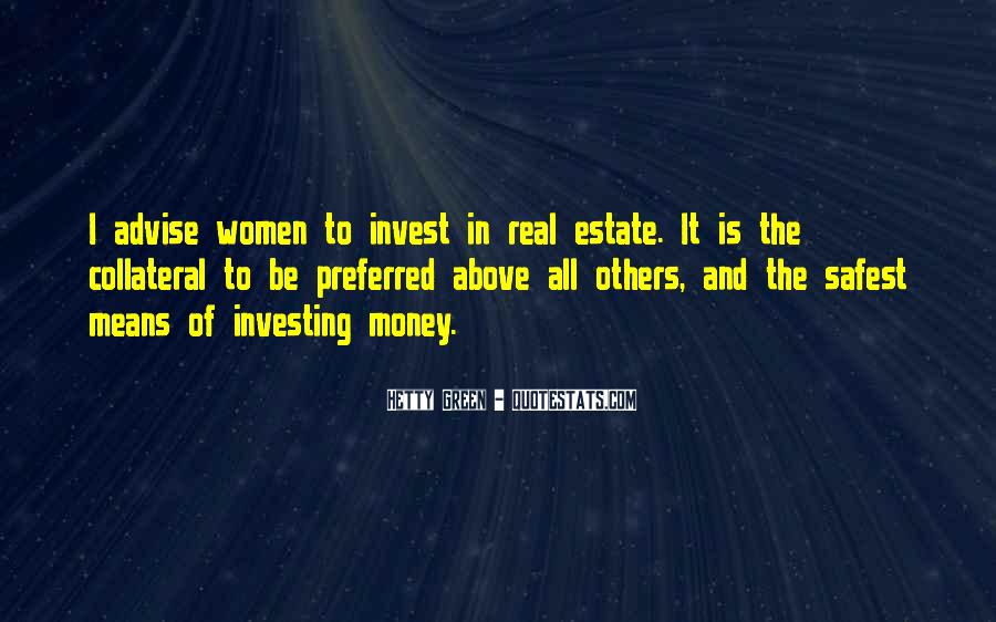 Quotes About Green Money #311208