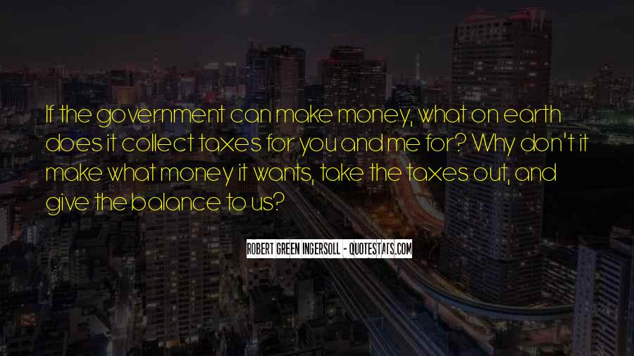 Quotes About Green Money #828474