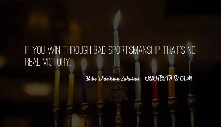Zaharias Quotes #46586