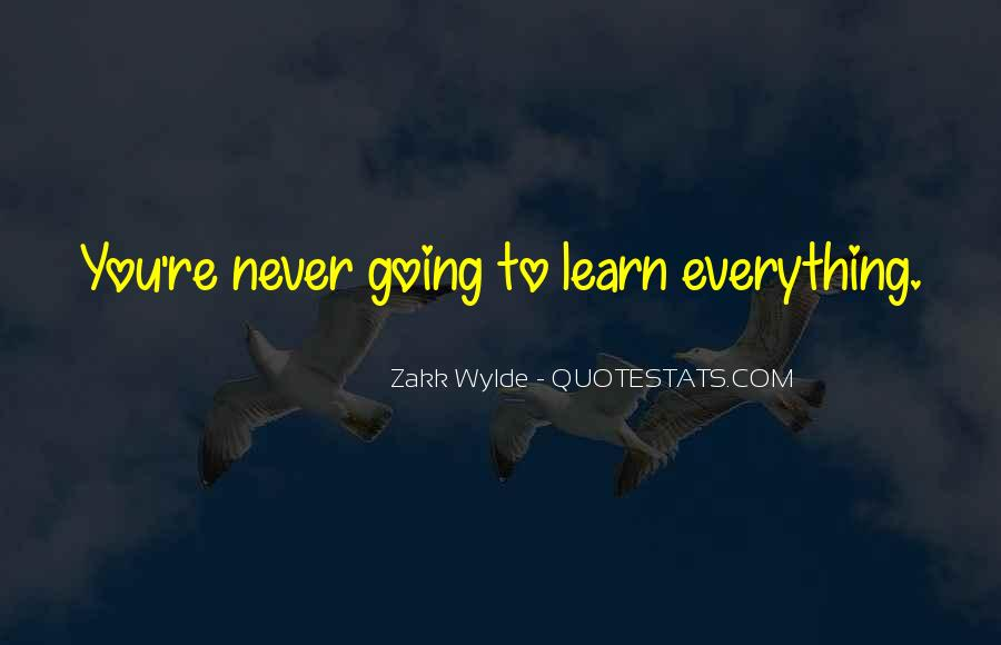 Zakk Quotes #122025