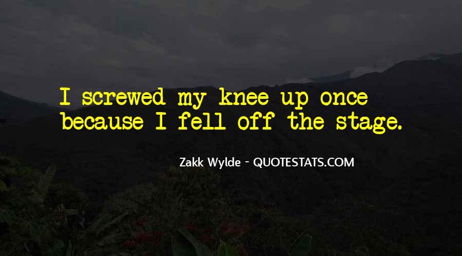 Zakk Quotes #1438229