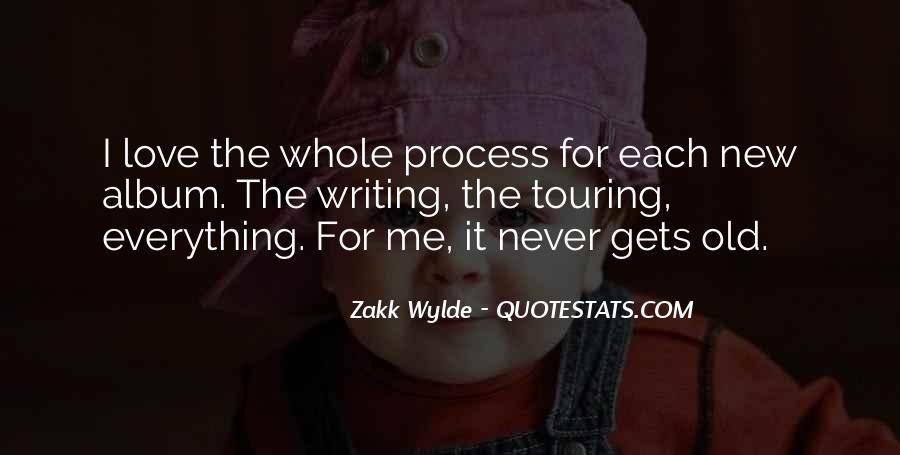 Zakk Quotes #628980