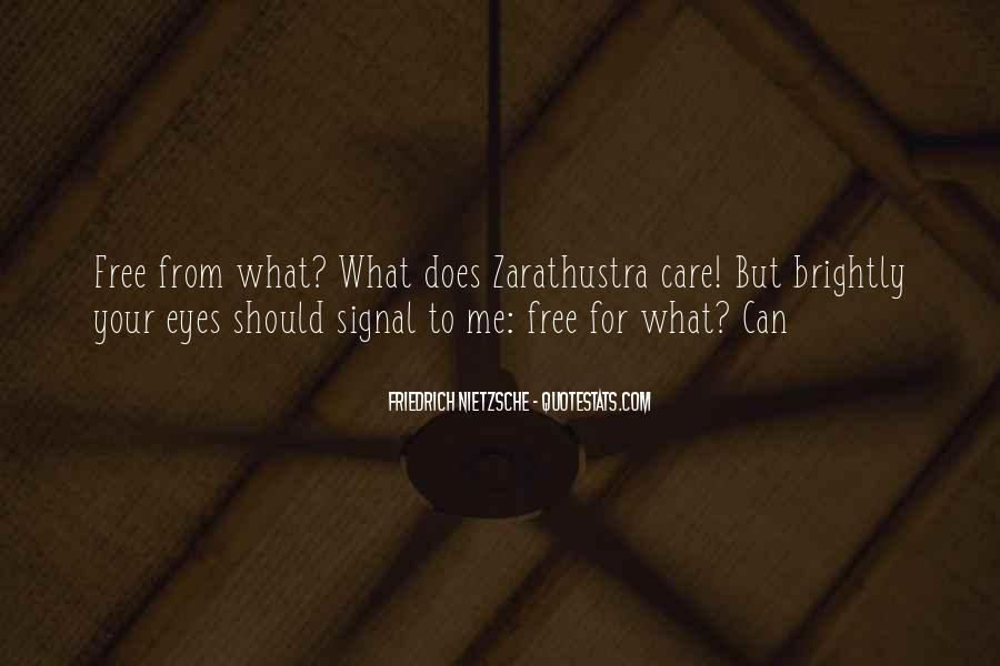 Zarathustra's Quotes #1073447