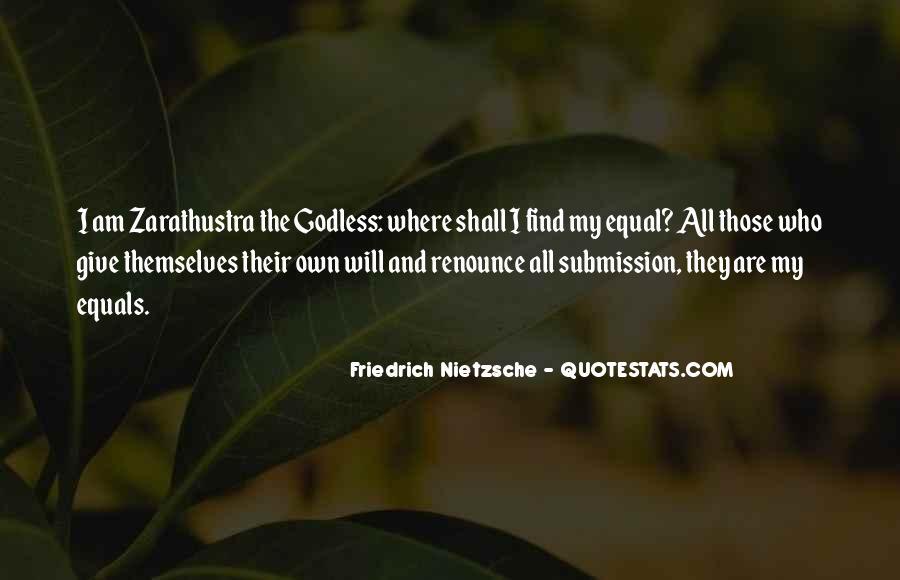 Zarathustra's Quotes #109983