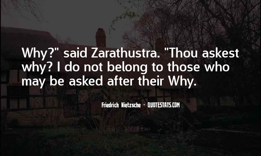 Zarathustra's Quotes #1160175