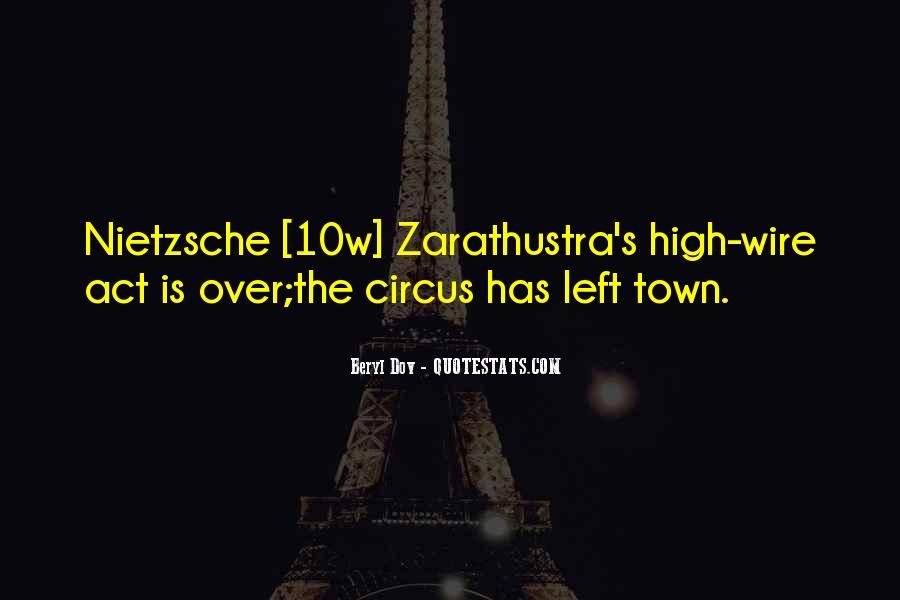 Zarathustra's Quotes #1600144