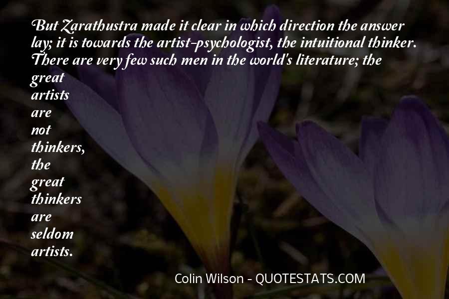 Zarathustra's Quotes #1809977
