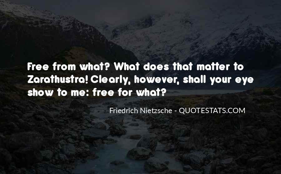 Zarathustra's Quotes #678569