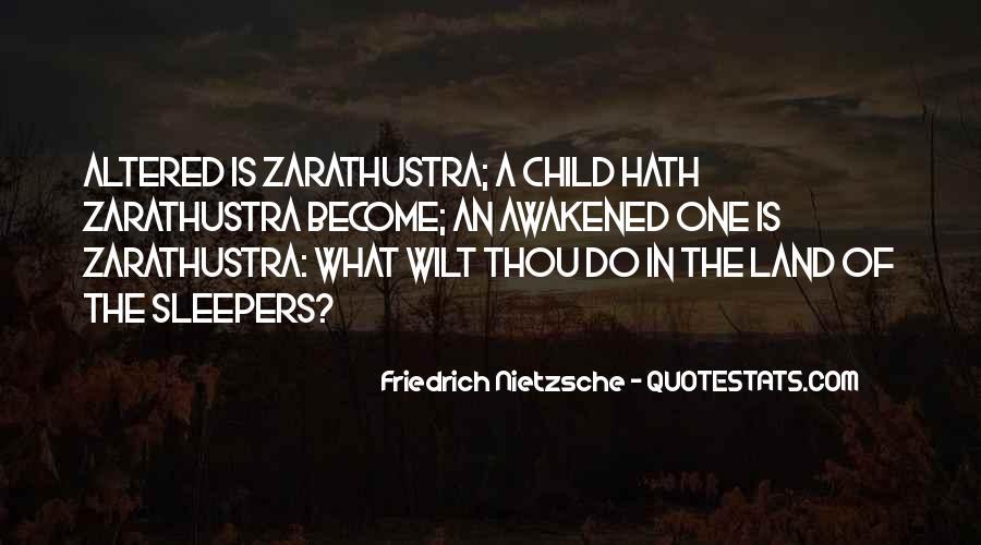 Zarathustra's Quotes #841069