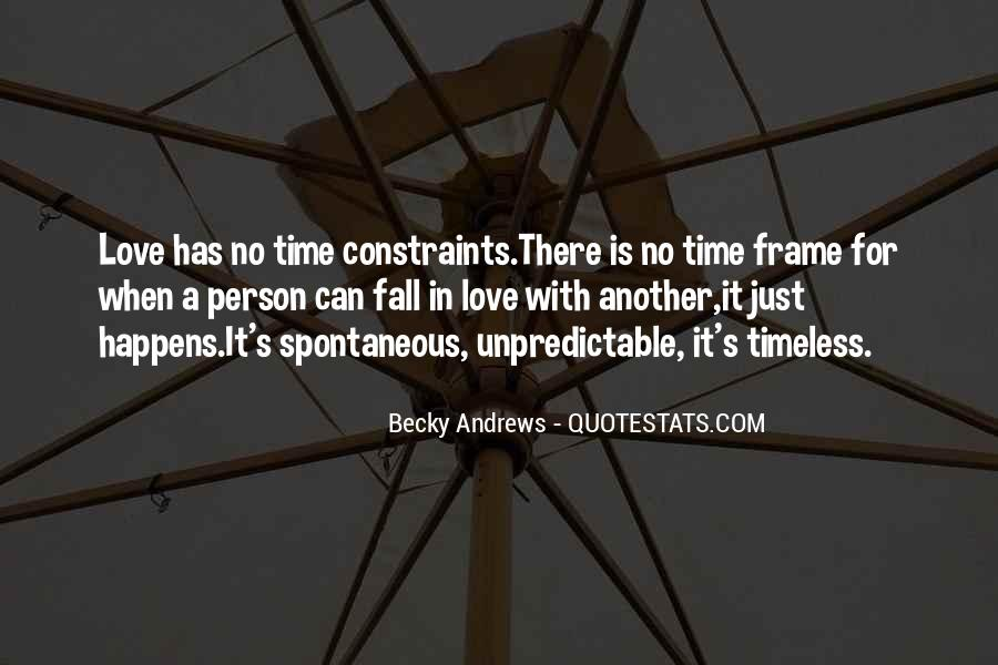 Quotes About Spontaneous Love #1547164